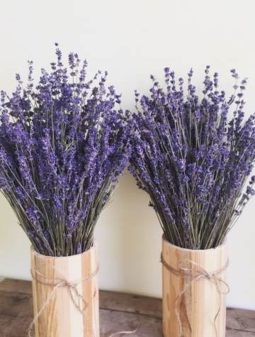 Lọ hoa Lavender English Vintage